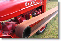 Farmall M belt pulley
