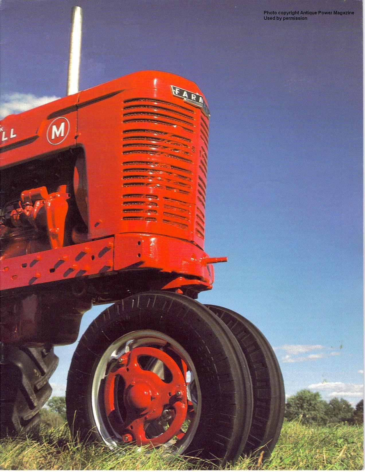 farmall ms and super ms  dean vinson's farm life page
